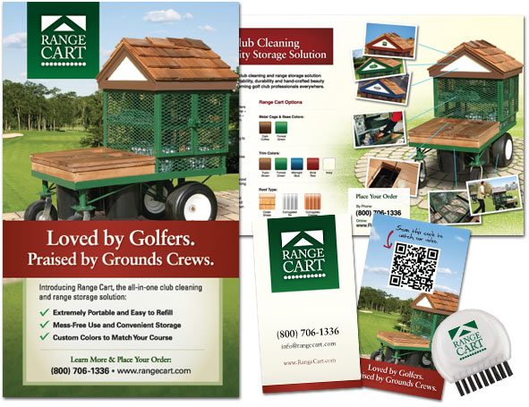 Collateral Design for Range Cart