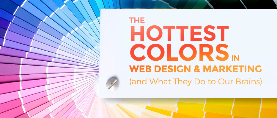 The Hottest Colors in Web Design and Marketing (and What They Do to Our Brains)